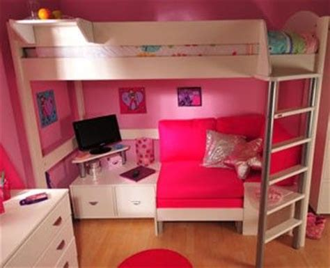 cute girl bunk beds loft bed with a desk for teens bing images so cute
