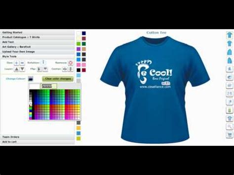 T Shirt Maker T Shirt Maker And Custom Application Tool Creator Or T