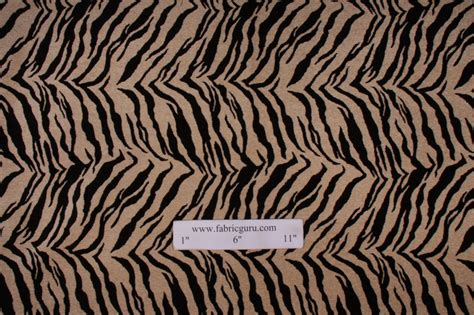 m7553 chenille tapestry upholstery fabric in onyx zebra print