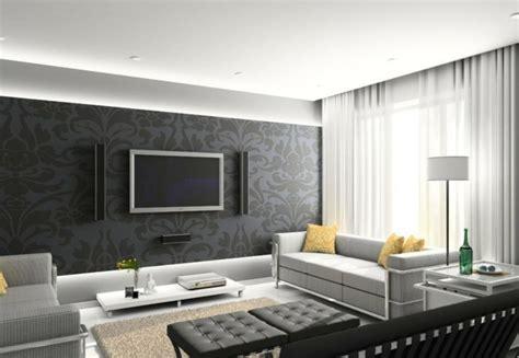 wohnzimmer wandgestaltung ideen archzinenet