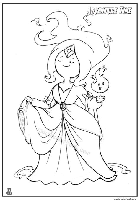 adventure time lumpy space princess free coloring pages