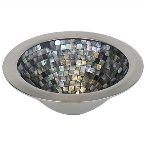 linkasink mother of pearl sink 17 best images about linkasink mosaic sinks on pinterest