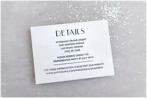 wedding details card exles the essential guide to wedding invitation info cards roseville designs