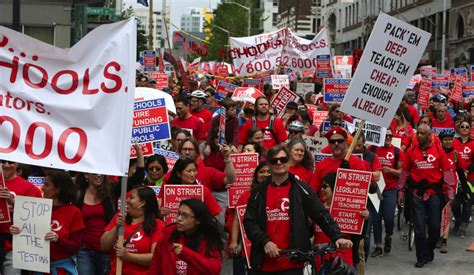 Backroom 3 Walk Out by Thousands Of Teachers Hit Streets In Seattle And Dems