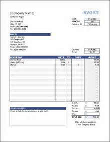 Invoice Template by Vertex42 Invoice Assistant Invoice Manager For Excel