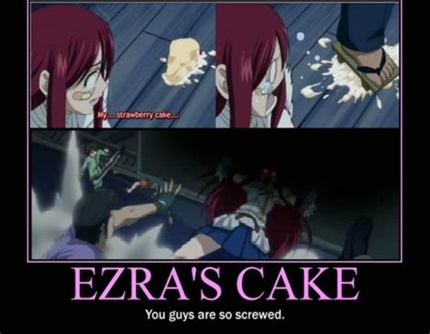 Fairy Tail Funny Memes - erza awesomeness gt