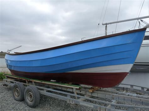 boats for sale yorkshire 1980 yorkshire coble 20ft launch power boat for sale www