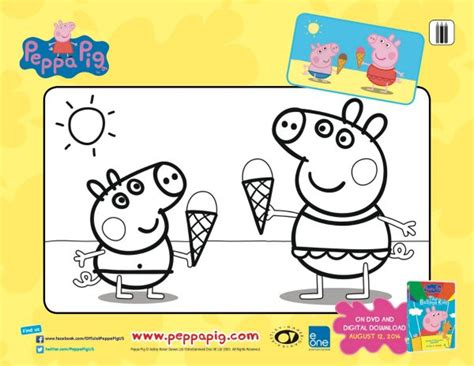 peppa pig thanksgiving coloring pages free printable peppa pig coloring page mama likes this