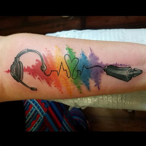 small rainbow tattoo rainbow notes www pixshark images