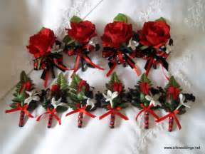 Baltimore Wedding Venues Black Red White Boutonniere Wedding Flowers Photos Amp Pictures Weddingwire Com