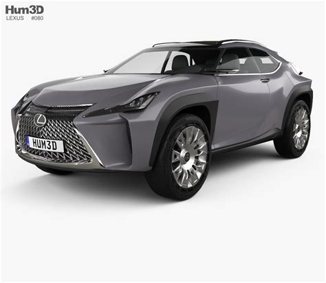 lexus model lexus ux 2016 3d model hum3d
