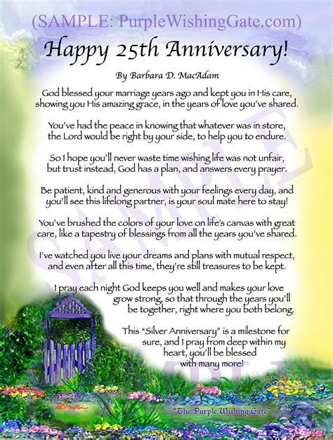 HAPPY 50th ANNIVERSARY: Framed, Personalized Poem Gift