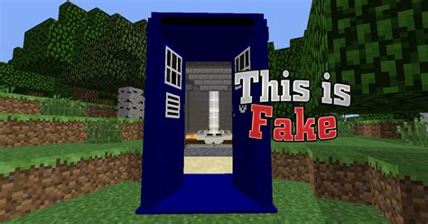 3d House Maker how to spot a fake minecraft tardis minecraft blog