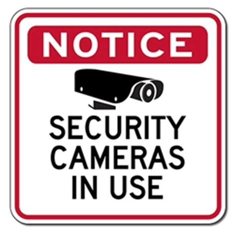 printable security stickers video surveillance sign printable www pixshark com
