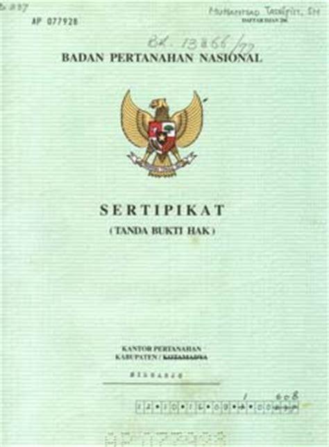 bali agung property jenis sertifikat tanah