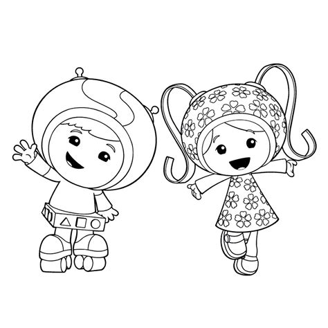 printable coloring pages free printable team umizoomi coloring pages for