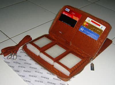Guess Kulit Pink 2 dychana shop dompet hp organizer import model