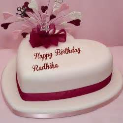 happy birthday radhika wishes cake images quotes sms