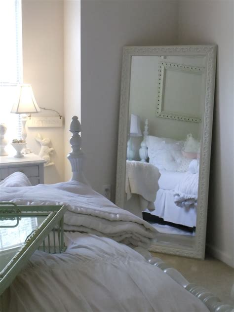 bedroom with mirror wall a classic pearl mirror mirror on the wall