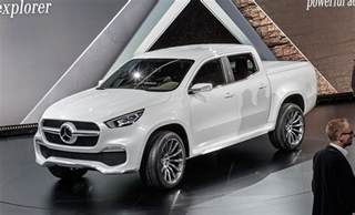 Mercedes Suv Truck Mercedes Hops Into Beds With New X Class Truck