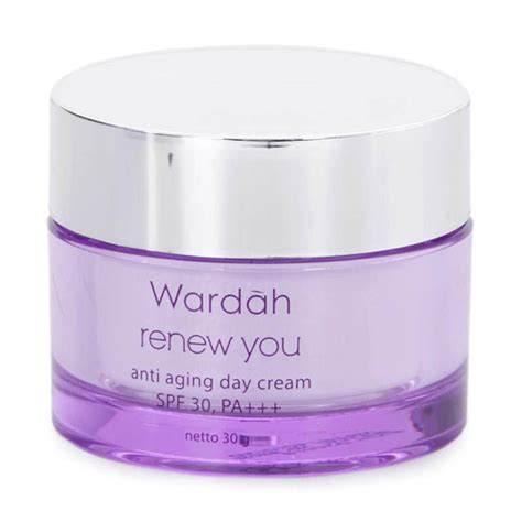 Wardah Renew You Day jual wardah renew you anti aging day 30 g jd id