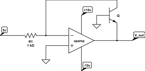 transistor logarithmic lifier op how do you solve this op circuit electrical engineering stack exchange