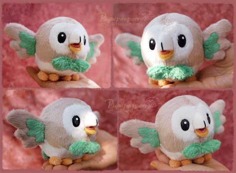 pattern image for sale rowlet plush pattern for sale by piquipauparro on deviantart