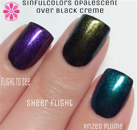 sinful colors swatches sinfulcolors opalescent trend toppers citrus twist
