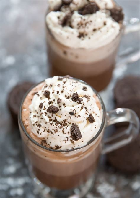 Oreo Cocoa Mix Drink by Cookies And Chocolate Kirbie S Cravings