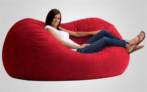 Large Foam Bean Bag Chairs The Fuf Memory Foam Oversized Beanbag Chair