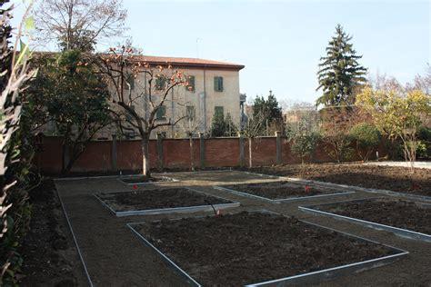 giardino di pertinenza sistemazione giardino di pertinenza di un convento nel