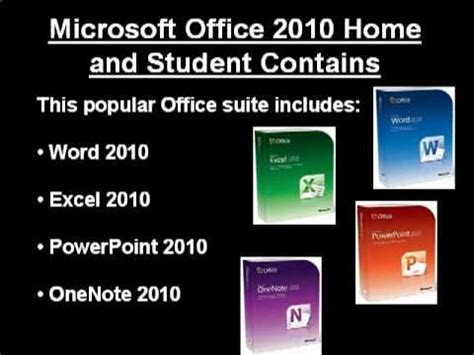 microsoft office home and student 2010 get the best