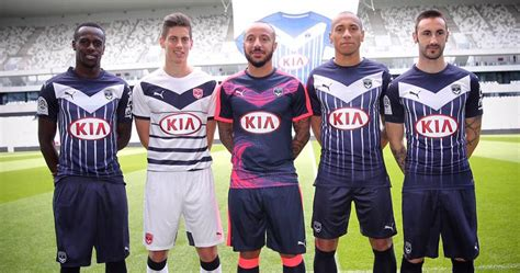 X P H Ng World Cup 2018 Girondins Bordeaux 15 16 Kits Released Footy Headlines