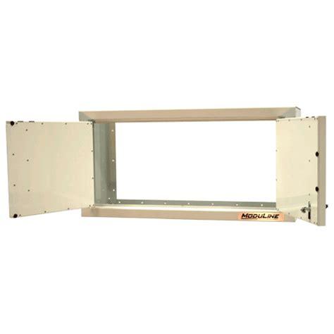 aluminum cabinets enclosed trailer 16 series aluminum wall cabinets moduline