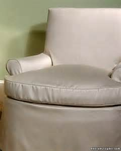 Making A Slipcover Step By Step Diy Craft How To S And