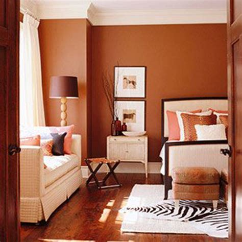 rust bedroom wall colors decorating envy