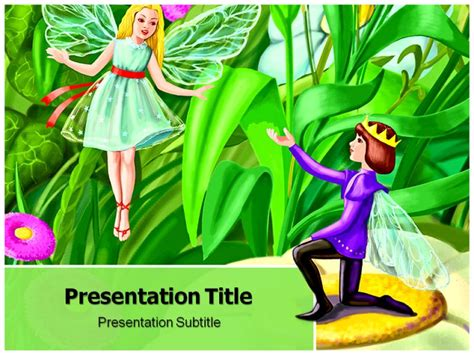 fairy tale powerpoint template free download yasnc info