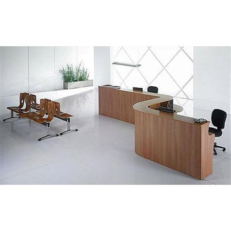 Curved Wooden Reception Desk Pear Wood Rd38 Huntoffice Ie Reception Desk Wood