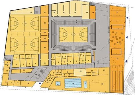 basketball arena floor plan 1000 images about plans section elevations on architecture ground floor and house