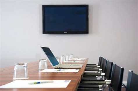 Conference Room Tv by Air Conditioned Meeting Room With Flat Screen Tv Picture