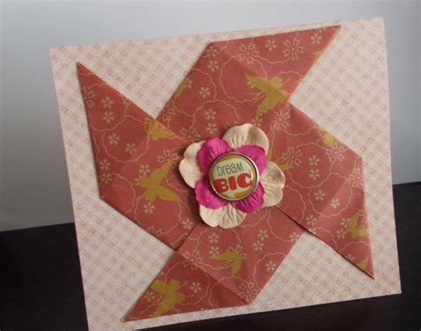 Origami For Cards - ten ideas for origami greeting cards