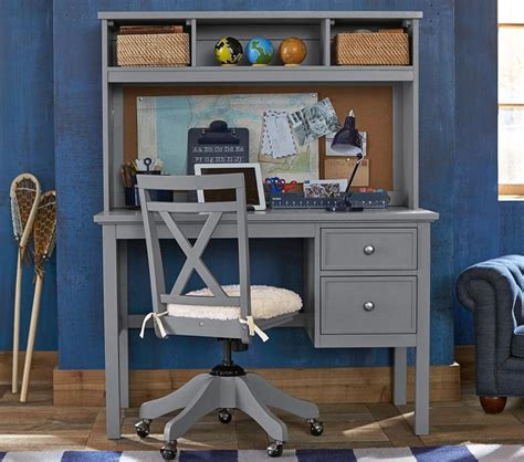Childrens Desks With Hutch Elliott Desk Hutch Pottery Barn
