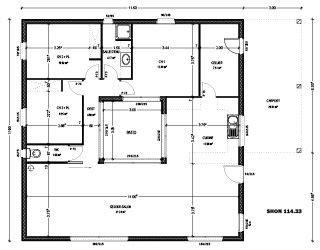 plan maison avec patio central plan maison avec patio central et terrasse sur le toit