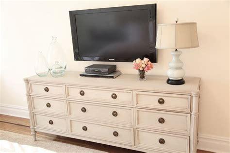 tv dressers for bedrooms tv above dresser in bedroom great idea gotta get rid of