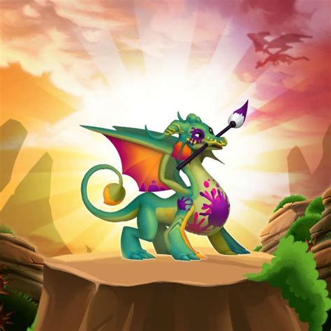 acrylic dragon information  dragon city