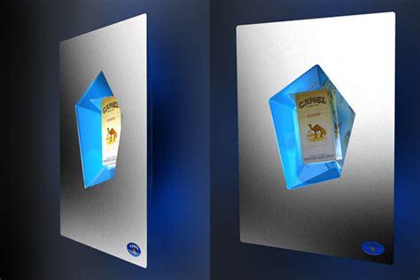 Designer Table promotional items for camel cigarettes