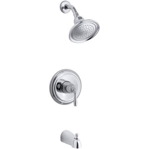 How To Install Kohler Shower Faucet by Kohler Devonshire 1 Handle Rite Temp Tub And Shower Faucet