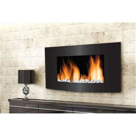 Home Depot Wall Fireplace by Frigidaire Vienna 35 In 2 In 1 Wall Mount Electric