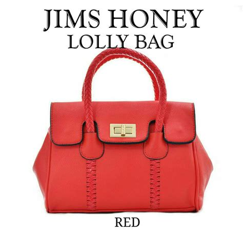 Jims Honey Sling Bag Tas Selempang Jims Honey Soft Pink rovelin tas wanita slempang jims honey loly elevenia