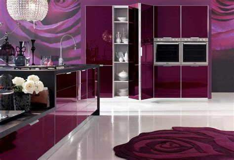 purple kitchen decor with purple rugs decolover net